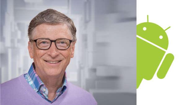 Bill Gates lamenta no haber sabido competir contra iOS y Android