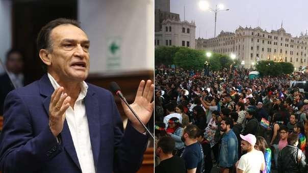 Becerril criticó el uso de la Plaza Bolívar para la 'Marcha del Orgullo'.