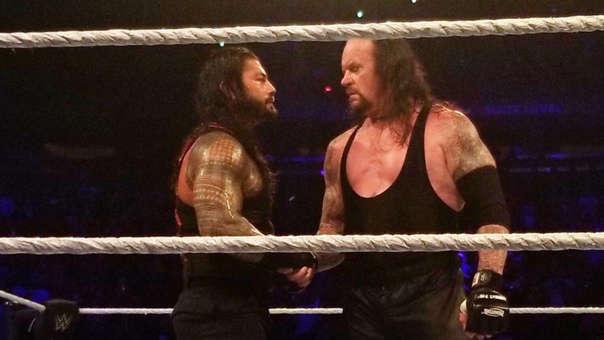 WWE | The Undertaker hará equipo con Roman Reigns en su próxima ...