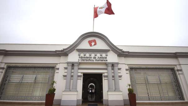 El Ministerio de Justicia y Derechos Humanos