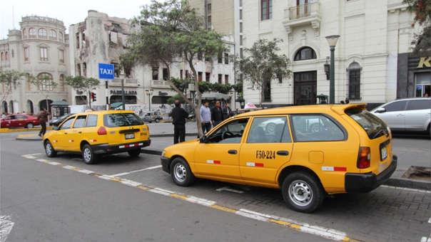 Plazo para pintado de taxis autorizados