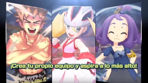 Pokémon Masters te permitirá hacer equipo con famosos entrenadores de todas las regiones del mundo.