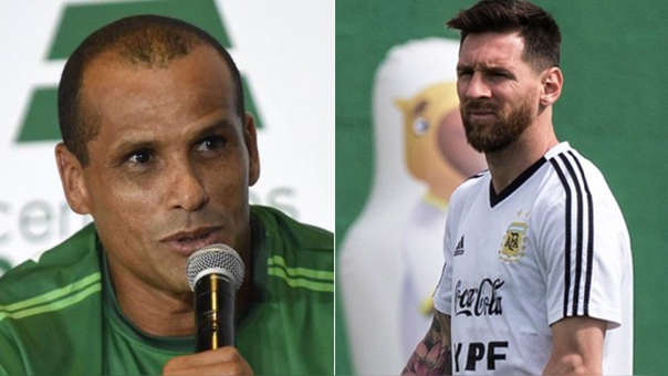 Image result for Rivaldo and Messi