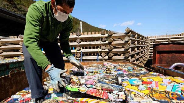 Reciclaje en Japón