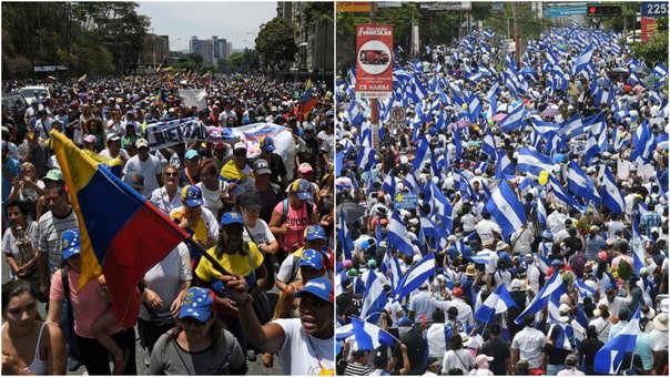 Crisis en Venezuela y Nicaragua