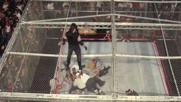 The Undertakers vs. Mick Foley