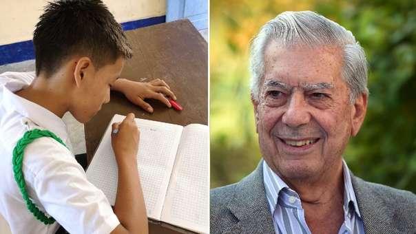 Colber Ríos Ríos, estudiante de la Institución Educativa Nacional 0304 Mario Vargas Llosa.