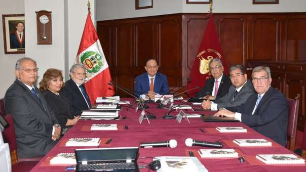 Comisión Especial encargada de elegir a los integrantes de la Junta Nacional de Justicia.