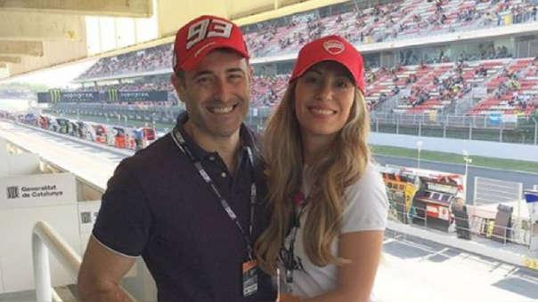 Delly Madrid y su esposo Antón Alba se convertirán en padres de mellizas.