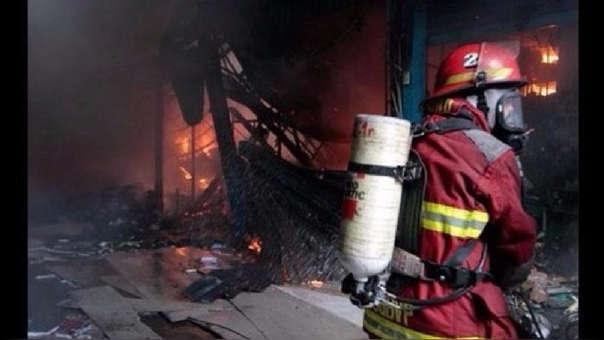 Incendio en Villa María del Triunfo