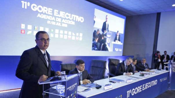 Durante su intervención en el 11° Gore Ejecutivo, Carlos Oliva sostuvo que sin inversión pública oportuna y de calidad no vamos a poder mejorar la competitividad de nuestra economía.