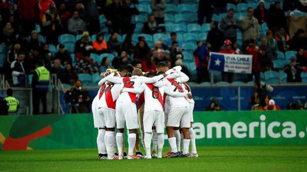 Perú y su arenga previo al partido contra Chile por la Copa América 2019