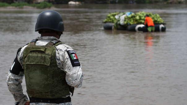 MÉXICO FRONTERA MIGRACIÓN
