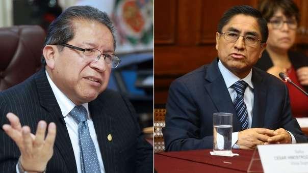 Pablo Sánchez presentó una denuncia constitucional contra Hinostroza.