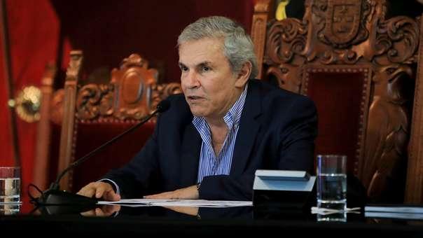 Luis Castañeda, exalcalde de Lima y fundador del partido Solidaridad Nacional.