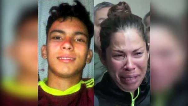 El joven y su madre
