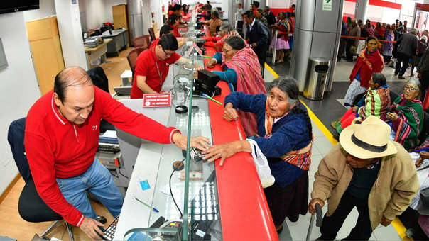 En todas las regiones del territorio peruano se encuentran los cajeros automáticos y agentes corresponsales, que permiten ahorrar tiempo y dinero.