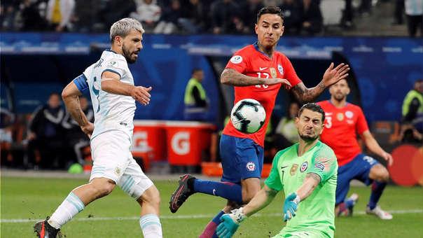 Argentina Vs Chile La Albiceleste Derrotó A La Roja En El Partido Por El Tercer Lugar De La Copa América 2019 Rpp Noticias