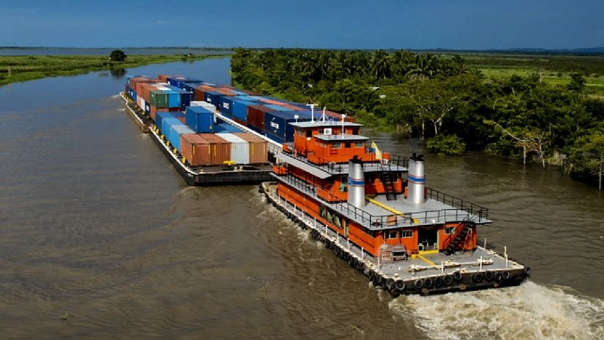 Hidrovía favorecería intercambio comercial entre Brasil y China (foto: rpp.pe)