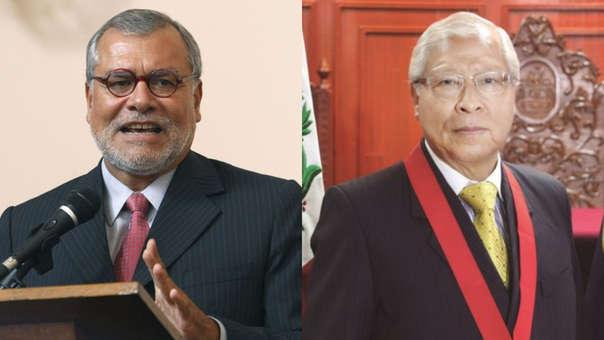 José Ugaz y juez supremo Jorge Castañeda