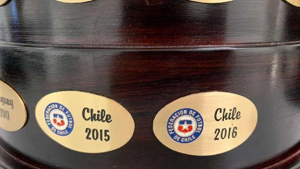 La Asociación Nacional de Fútbol Profesional de Chile hizo los trámites ante Conmebol para que se les considere bicampeones de la Copa América.