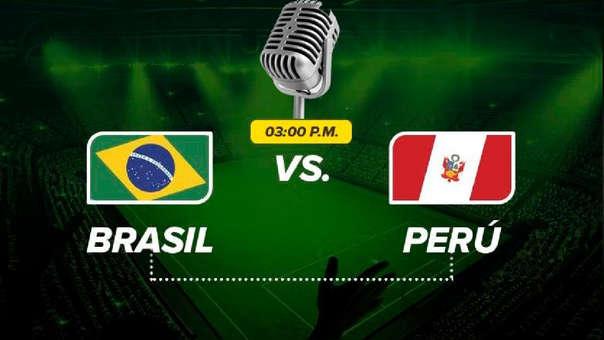 Perú vs. Brasil por la final de la Copa América 2019