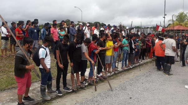 Las comunidades indígenas tomaron la Estación 5 del Oleoducto Norperuano.