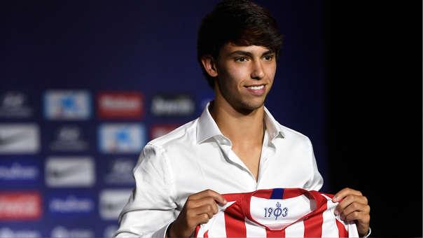 Joao Félix fue presentado en el Atlético y herederá importante dorsal