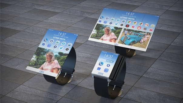 Así luce el nuevo reloj diseñado por IBM