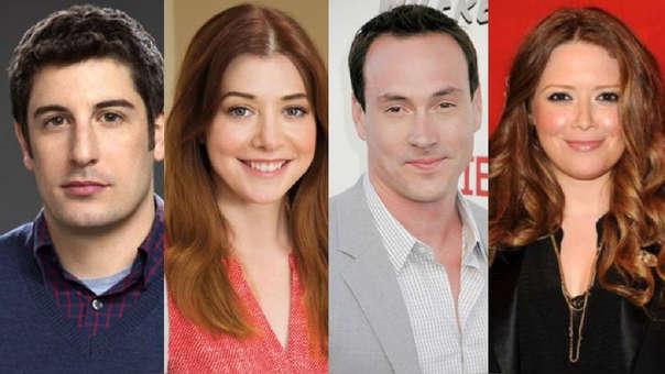 """""""American Pie"""": Actores se juntaron para celebrar los 20 años del estreno de la película."""