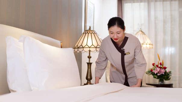 Los hoteles chinos añaden etiquetas RFID en las sábanas