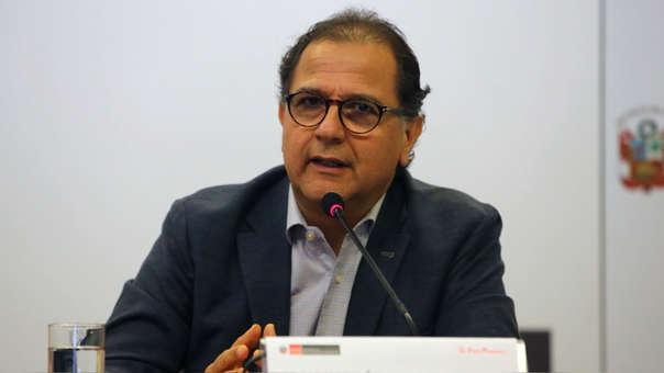 El ministro de Energía y Minas, Francisco Ísmodes, dijo que