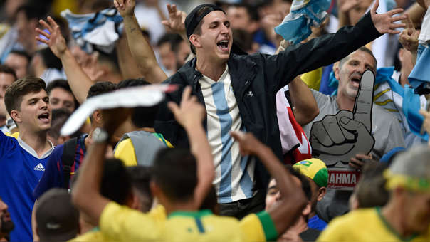 Hinchas - Copa América