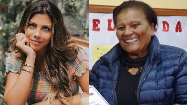Alondra García y 'Doña Peta' se lucen juntas en evento benéfico.
