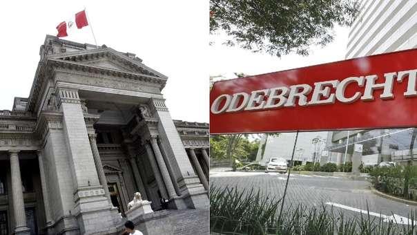 Poder Judicial dio alcances del acuerdo del Ministerio Público con Odebrecht.