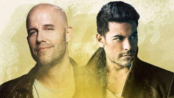 """Gian Marco y Carlos Rivera realizan dueto y lanzan nueva versión de """"Empecemos a vivir""""."""