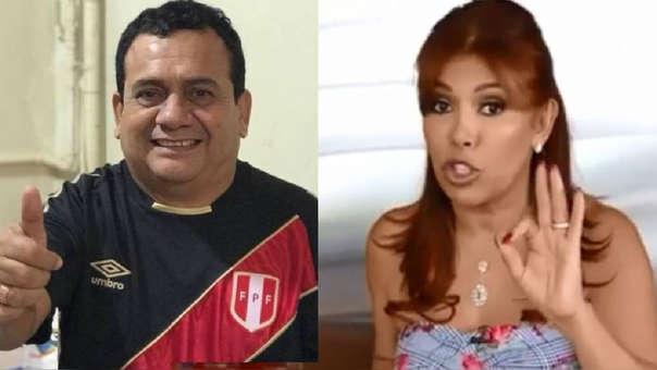 Tony Rosado responde a Magaly Medina al ser calificado de vulgar por sus actos contra las mujeres.