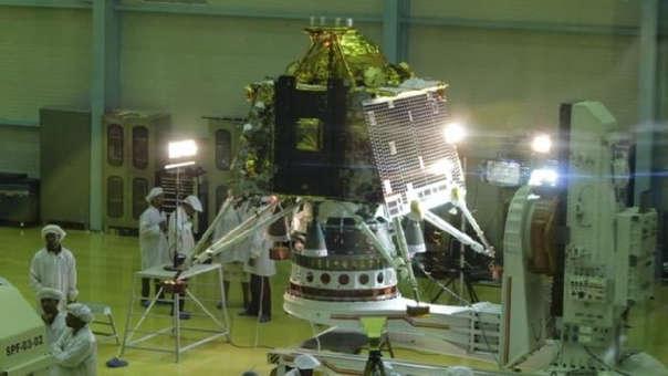 Chandrayaan 2 parte este fin de semana a su misión espacial
