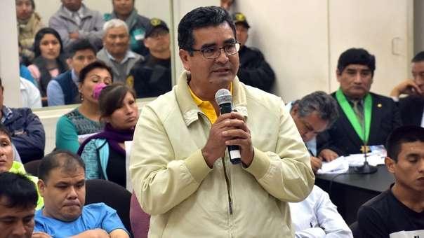 El exgobernador regional de Áncash se encuentra preso por los delitos de homicidio calificado y corrupción de funcionarios.