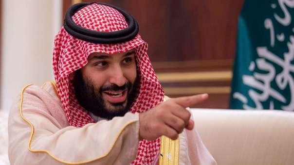 Mohamed bin Salmán, el príncipe heredero y hombre fuerte de Arabia Saudita.