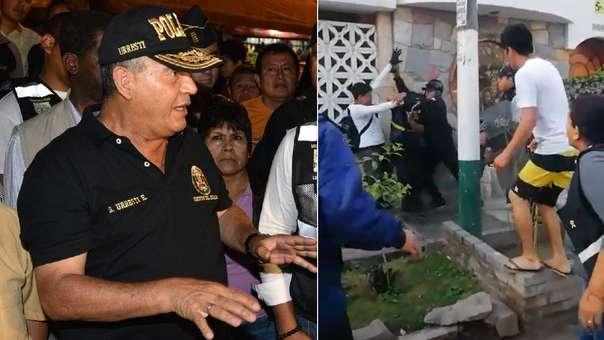 Daniel Urresti, gerente de seguridad ciudadana de Los Olivos.