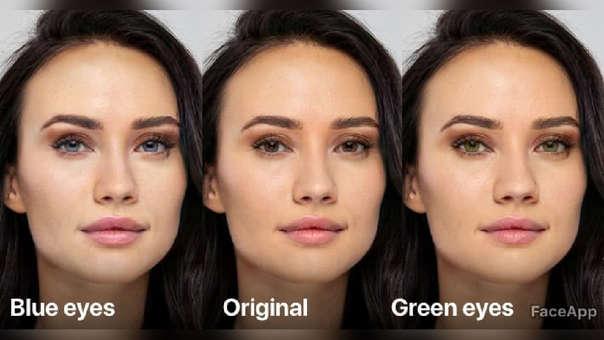 FaceApp permite hacer pequeños ajustes al rostro