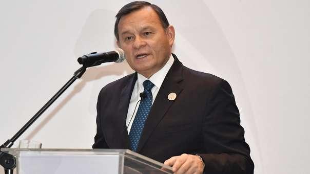 Néstor Popolizio, ministro de Relaciones Exteriores.