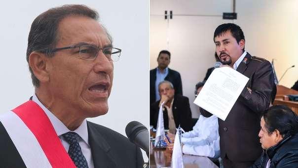 Gobernador de Arequipa mandó advertencia al presidente Vizcarra.