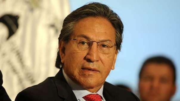 Alejandro Toledo en el 2011, durante un evento en Guatemala.