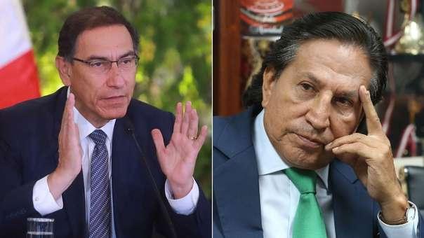 Vizcarra se refirió a la situación de Alejandro Toledo.