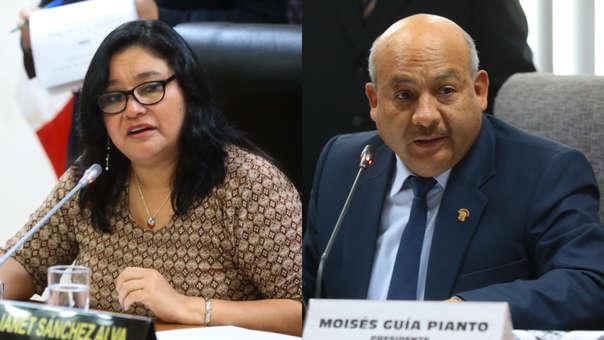 Janet Sánchez y Moisés Guía