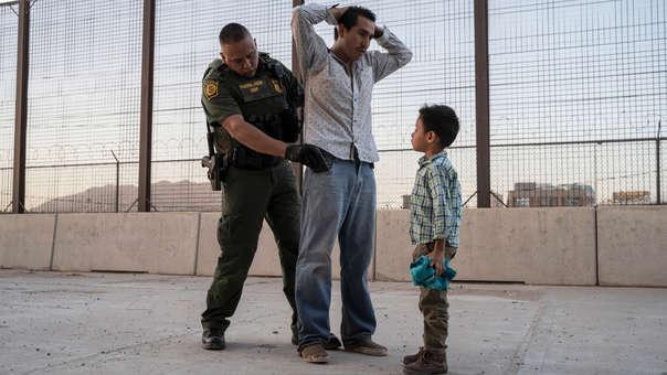 Migrantes en EE.UU