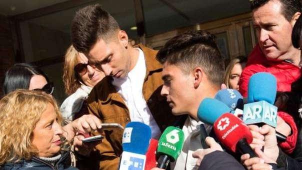 Víctor Rodríguez y Raúl Calvo, dos de los jugadores acusados