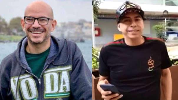 Ricardo Morán saluda a Ernesto Pimentel al enterarse que se convirtió en padre a los 49 años.